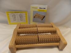 Fuss Massageroller aus Holz