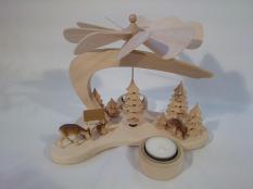 Kerzenspiel aus Holz