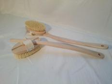 Badebürste mit abnehmbarer Bürste und Handschlaufe